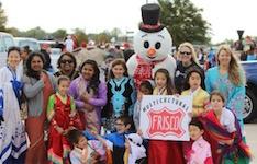 Frisco Community Parade kids